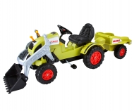 CLAAS Celtis Loader + Trailer