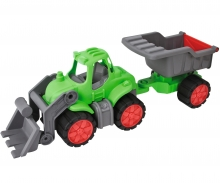BIG-Power-Tractor Muldenkipper