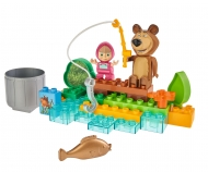BIG-Bloxx Masha and the Bear Go Fishing