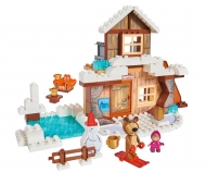 BIG-Bloxx Masha and the Bear - Bear's Winter House