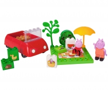 BIG-Bloxx Peppa Pig Picnic Fun
