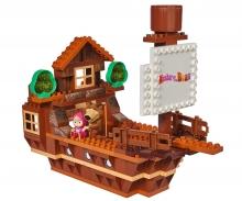 BIG-Bloxx Mascha and the Bear Bear's Ship
