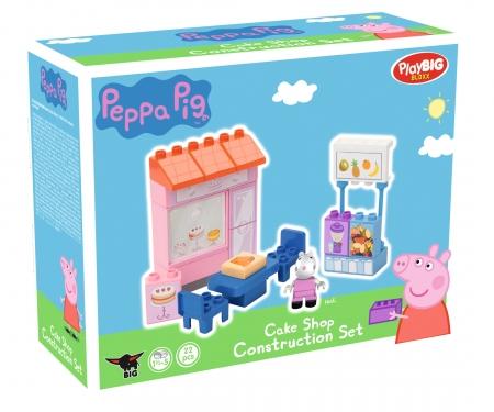 BIG-Bloxx Peppa Pig Cake Shop