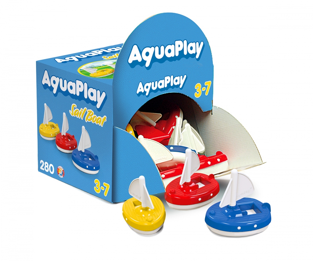 AquaPlay Regatta – 18 Sailboats - Accessories - Products