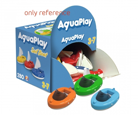 aquaplay AquaPlay Motorboat Disp. 18 pcs