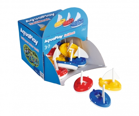 aquaplay AquaPlay Sailboat Disp. 18 pcs