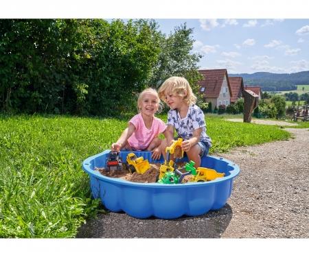 big BIG-Sand-/Watershell blau