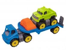 big BIG-Power-Worker Mini Monstertruck-Set