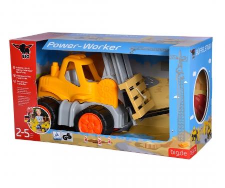 big BIG-Power-Worker Gabelstapler