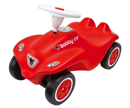 big BIG-New-Bobby-Car Red