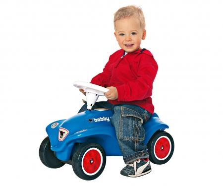 big BIG-New-Bobby-Car Blau