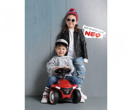 big BIG-Bobby-Car-Neo Rot