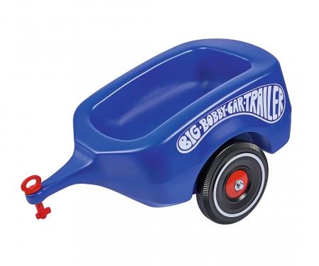 big BIG-Bobby-Car-Trailer Royalblau