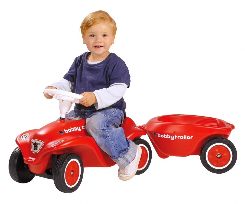 BIG-New-Bobby-Car-Trailer Red - BIG Bobby Car accessories ...