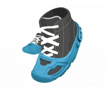 big BIG Shoe Care Blue