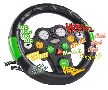 big BIG-Tractor Sound-Wheel