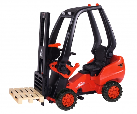big Linde Forklift