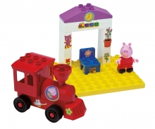 big BIG-Bloxx Peppa Pig Train Stop