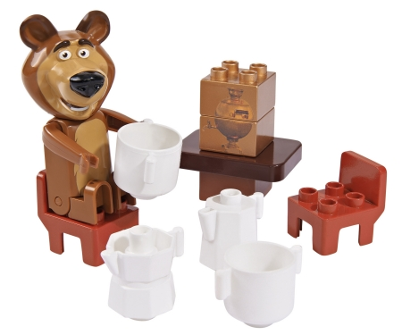big BIG-Bloxx Masha and the Bear Starter Sets
