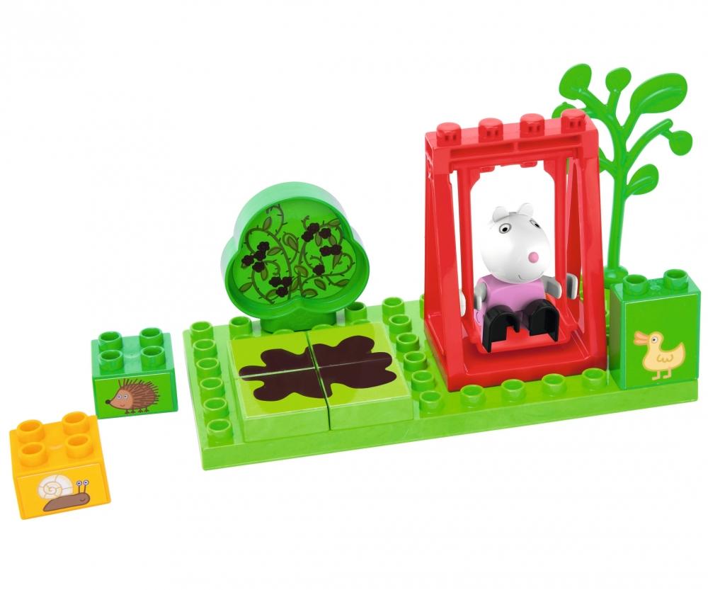 PlayBIG Bloxx Peppa Pig Suzy/'s Swing SIMBA 800057102