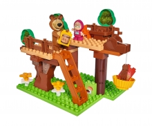 big BIG-Bloxx Masha and the Bear Tree Hideout