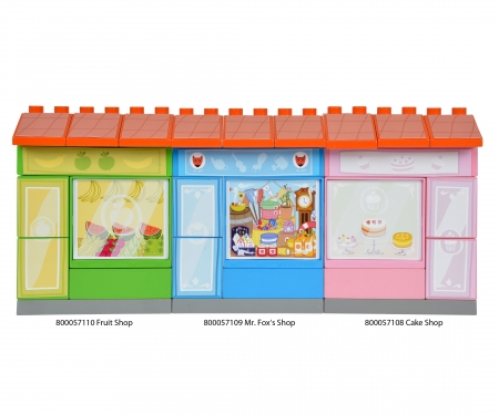 big BIG-Bloxx Peppa Pig Mr Fox's Shop