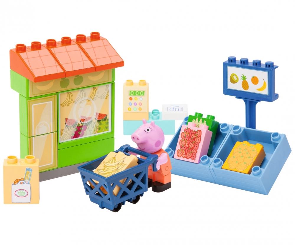 big bloxx peppa pig fruit shop spielzeug baby. Black Bedroom Furniture Sets. Home Design Ideas