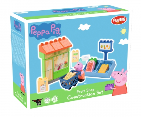 big BIG-Bloxx Peppa Pig Fruit Shop