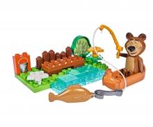 big BIG-Bloxx Masha and the Bear - Bear's Canoe