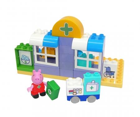 big BIG-Bloxx Peppa Pig Medical Care Case