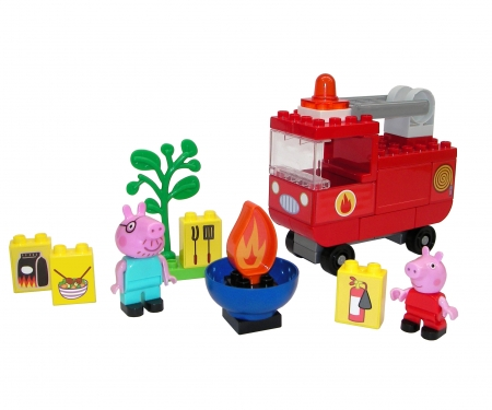 big BIG-Bloxx PP Fire Engine