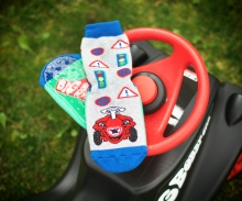 big Ewers - BIG-Bobby-Car Socken, Strumpfhosen und Knieschoner