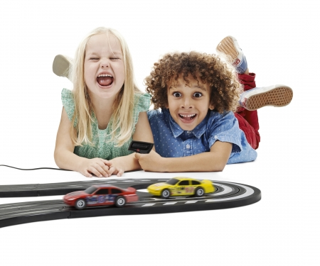 American Racers Micro Scalextric