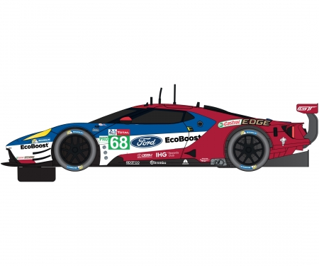 carson 1:32 ARC AIR World GT 6,8m AMG v. Ford