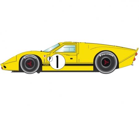 1:32 Ford GT40 Mk4 1967 Sebring Win. HD