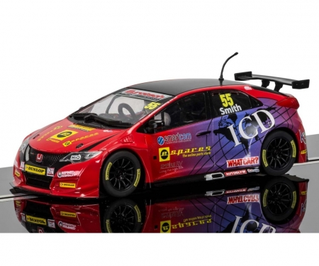 1:32 BTCC Honda Civic Type R #55 2016 HD