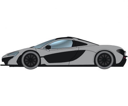 1:32 McLaren P1 Street Ceramic Grey HD
