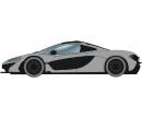 1:32 McLaren P1 Street Ceramic Grey HD