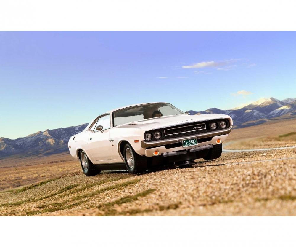 Scalextric 500003935 1:32 Dodge Challenger 1970 Weiss HD