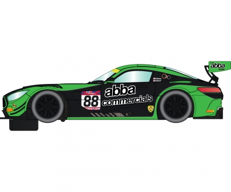 1:32 Mercedes AMG GT3 2017 Team ABBA HD