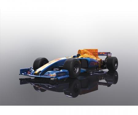 1:32 2017 Formula One Car - Blue