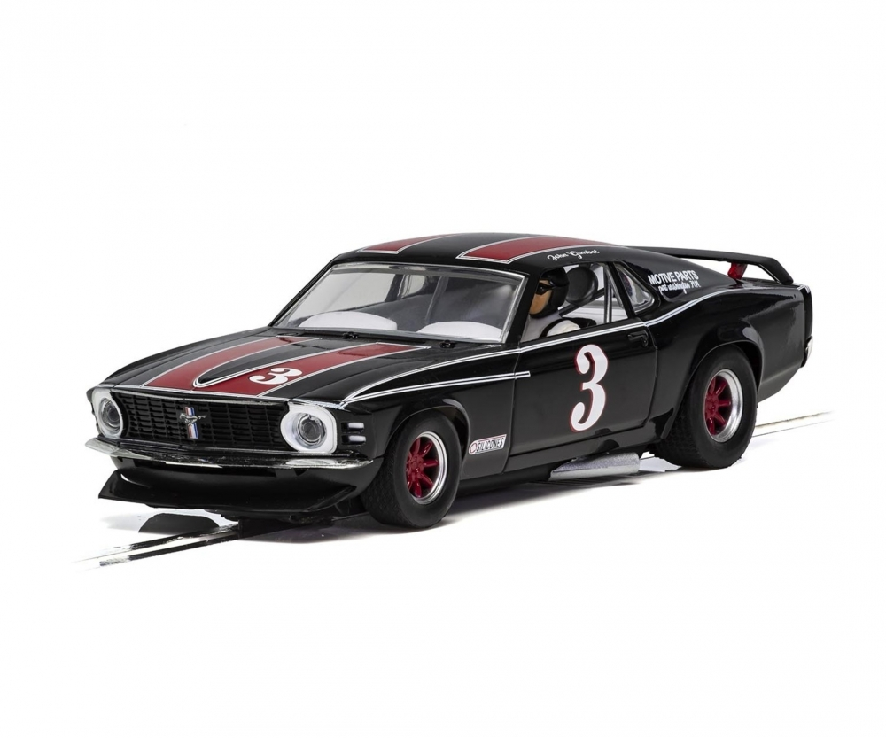 132 Ford Mustang Trans Am 72 3 Hd Slot Cars High Detailed