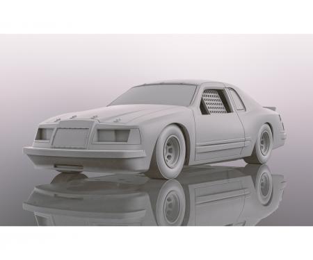carson 1:32 Ford Thunderbird - Blau/Weiss/Rot S