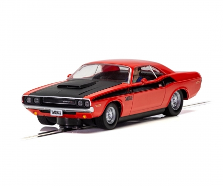 carson 1:32 Dodge Challenger T/A Rot/Schwarz HD