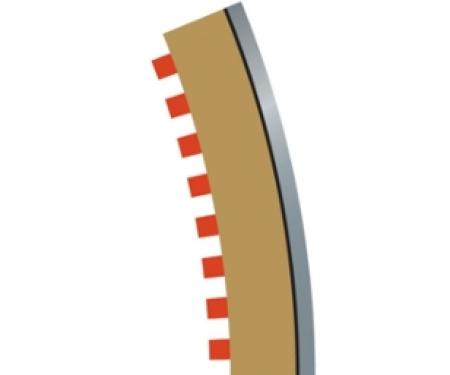 SPORT Randstreifen R3 aussen 4 Stück