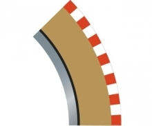 SPORT Randstreifen Kurve R2 inn. 45(4)