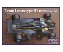 1:20 Team Lotus Type 91 1982