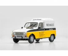 carson 1:24 Renault 4 Fourgonnette Service Car