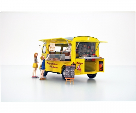 1:24 Citroen H Crepe mobile m.Fig.