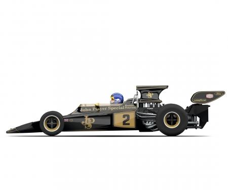 1:32 Racing Legends -Team Lotus 72 Sw/Go